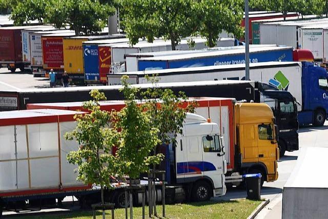 Kommt doch noch ein Lkw-Abstellplatz auf die Gemarkung von Weil am Rhein?