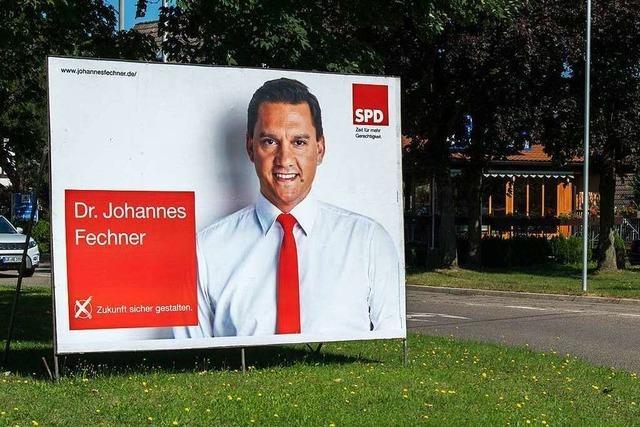 SPD hat in Mahlberg zu früh plakatiert – Ortsverein bekommt Ärger