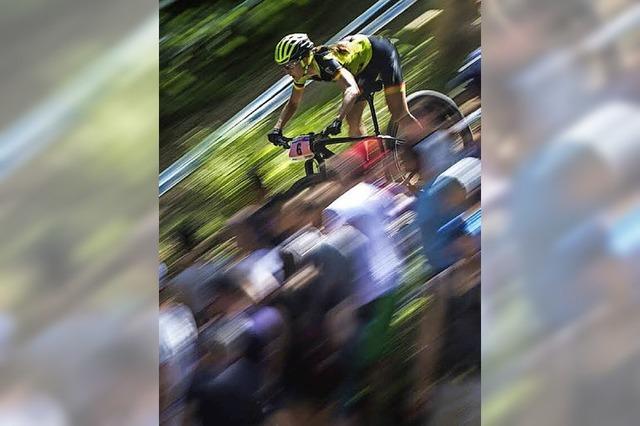 Adelheid Morath beim Weltcupfinale in Val di Sole