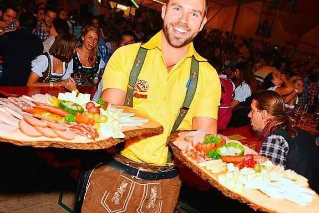 Verlosung: 3 Tische für 10 Personen beim Badischen Oktoberfest