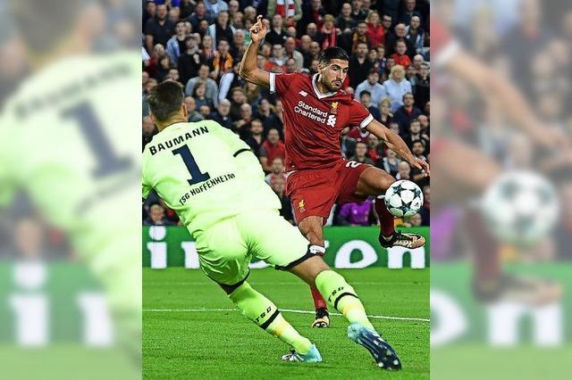 Hoffenheim verliert mit 2:4 in Liverpool