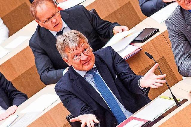 Landtag: Verstößt die AfD gegen das Fraktionsgesetz?