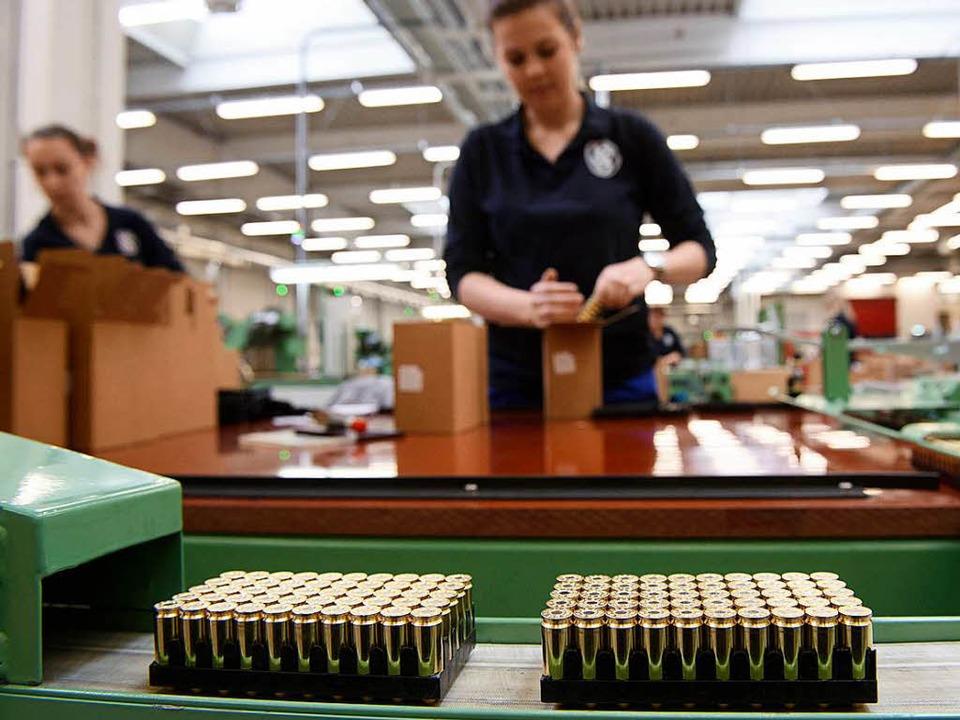 Wird in Lahr eines Tages Munition am Fließband produziert?  | Foto: dpa
