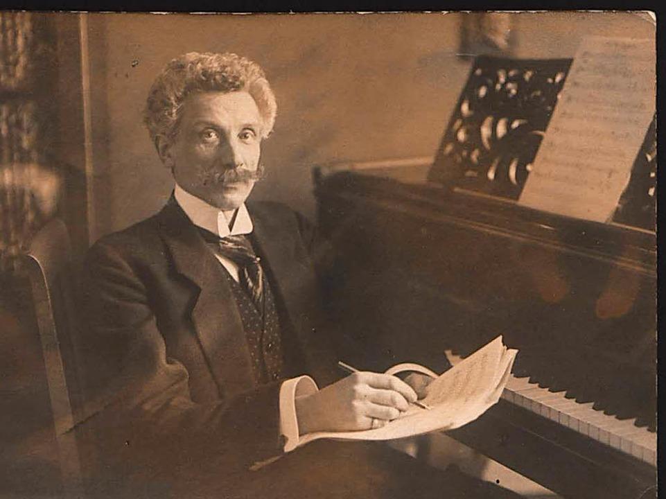 Léon Jessel (1919)    Foto: Badisches Landesmuseum