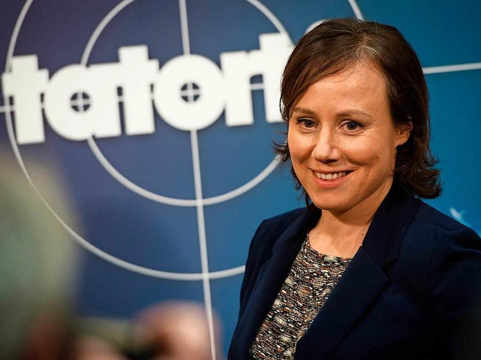 Schauspielerin Eva Löbau wird als Kommissarin Franziska Tobler zu sehen sein.  | Foto: Nikolai Huland