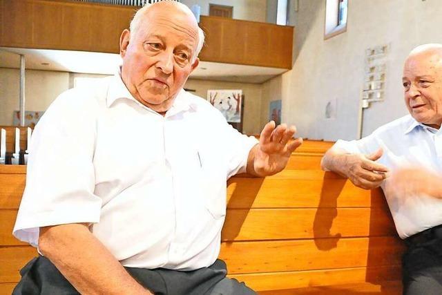 Die Zeller Pfarrer Leppert und Demuth sprechen über die Glaubensgrenze
