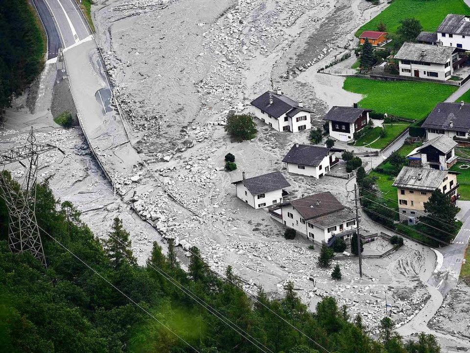 Bergsturz in Graubünden  | Foto: AFP