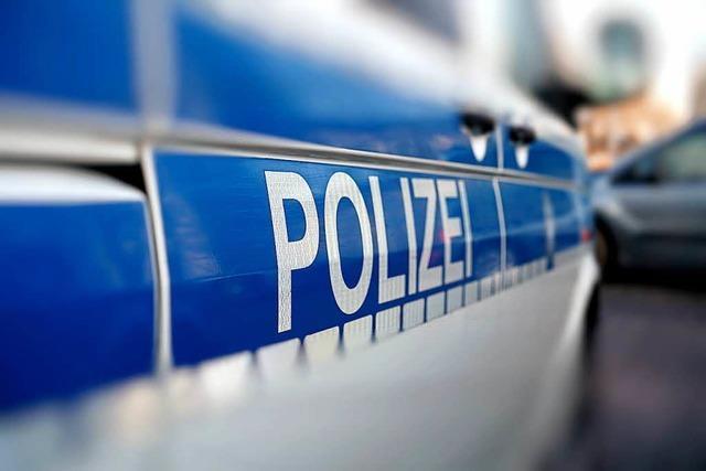 Großkontrolle der Polizei wegen Rockertreffen beim Opfinger See