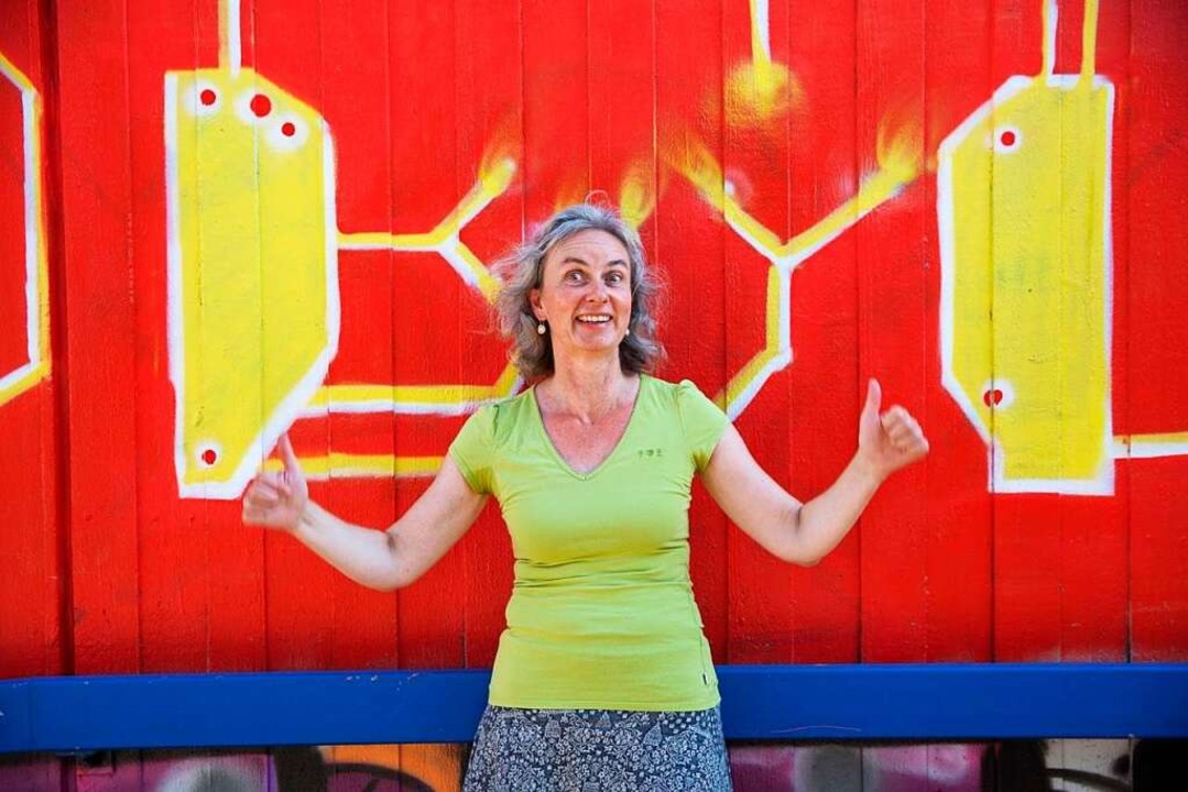 Jutta Hofmann, Foodbloggerin aus Schopfheim    Foto: privat