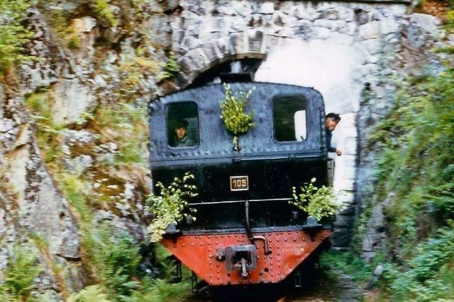 Schwierige Bauten führten die Bahn von Zell nach Todtnau