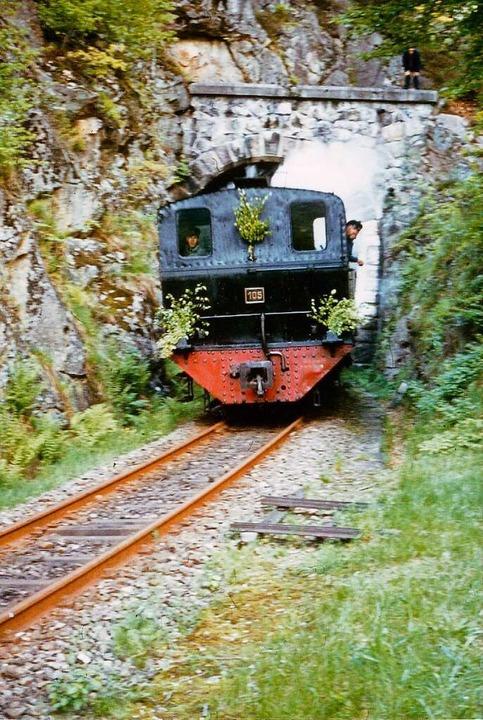 Das Todtnauerli besaß als einzige badi...zwischen Niederhepschingen und Fröhnd.    Foto: Archiv Benno Dörflinger