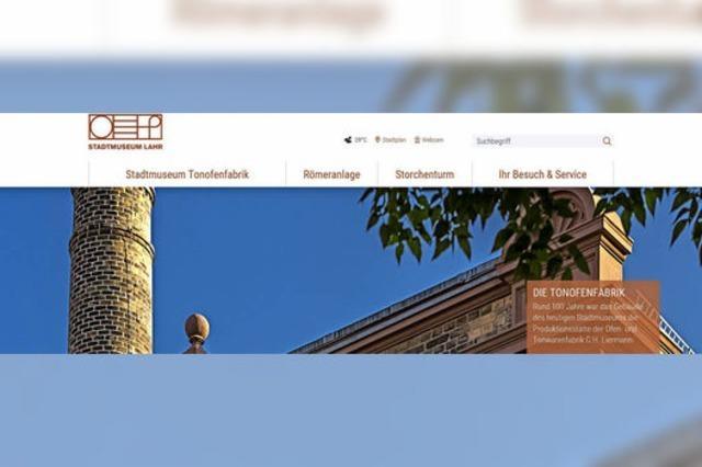 Stadtmuseum mit eigener Internetseite