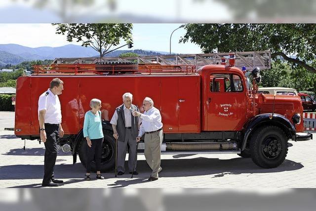 Feuerwehrmann bleibt man ein Leben lang