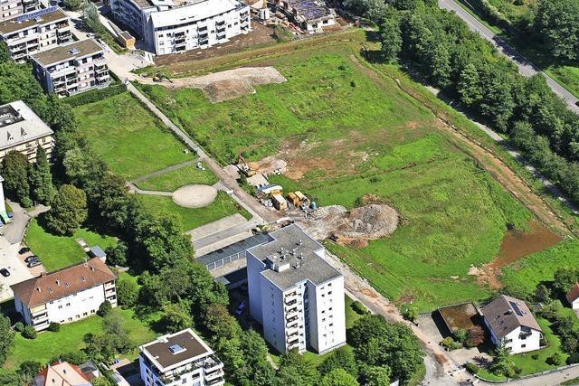 Ausblick auf neues Wohnquartier