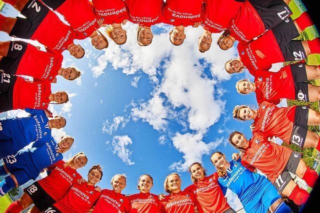 Wie sich die Spielerinnen des SC Freiburg vorbereiten