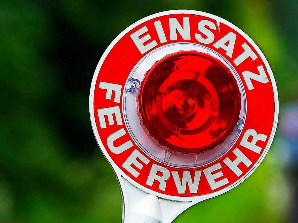 Bei einem Balkonbrand in Lörrach hat e...r Schlimmeres verhindert. (Symbolbild)  | Foto: Armin Weigel