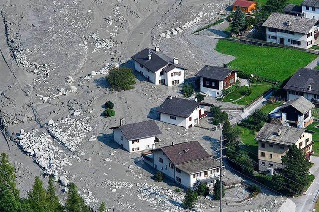Polizei gibt Vermissten-Suche nach Bergsturz bei Bondo auf