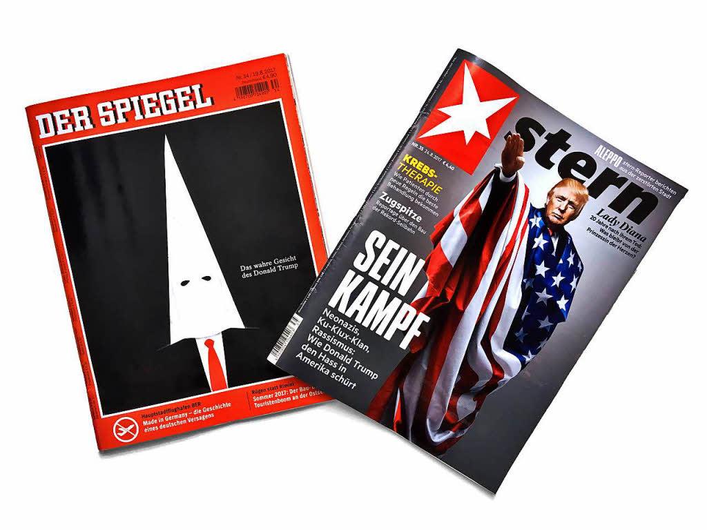 Stern und spiegel magazin cover sorgen f r diskussionen for Stern oder spiegel