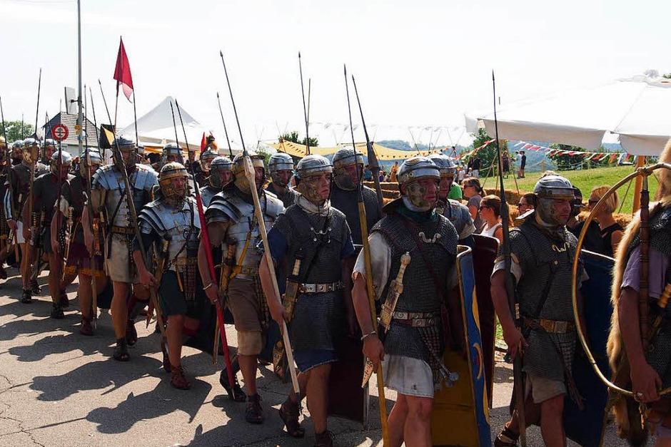 Die Legionäre unterwegs (Foto: Boris Burkhardt)