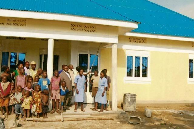 Neue Krankenstation mit Bad Säckinger Hilfe
