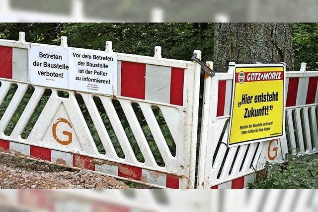 Kein Durchkommen: Windpark-Transport bleibt stecken