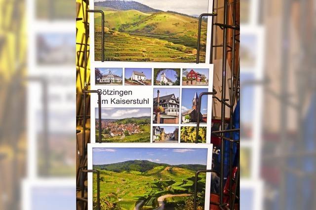 Schöne Bauten als Bildergruß aus Bötzingen