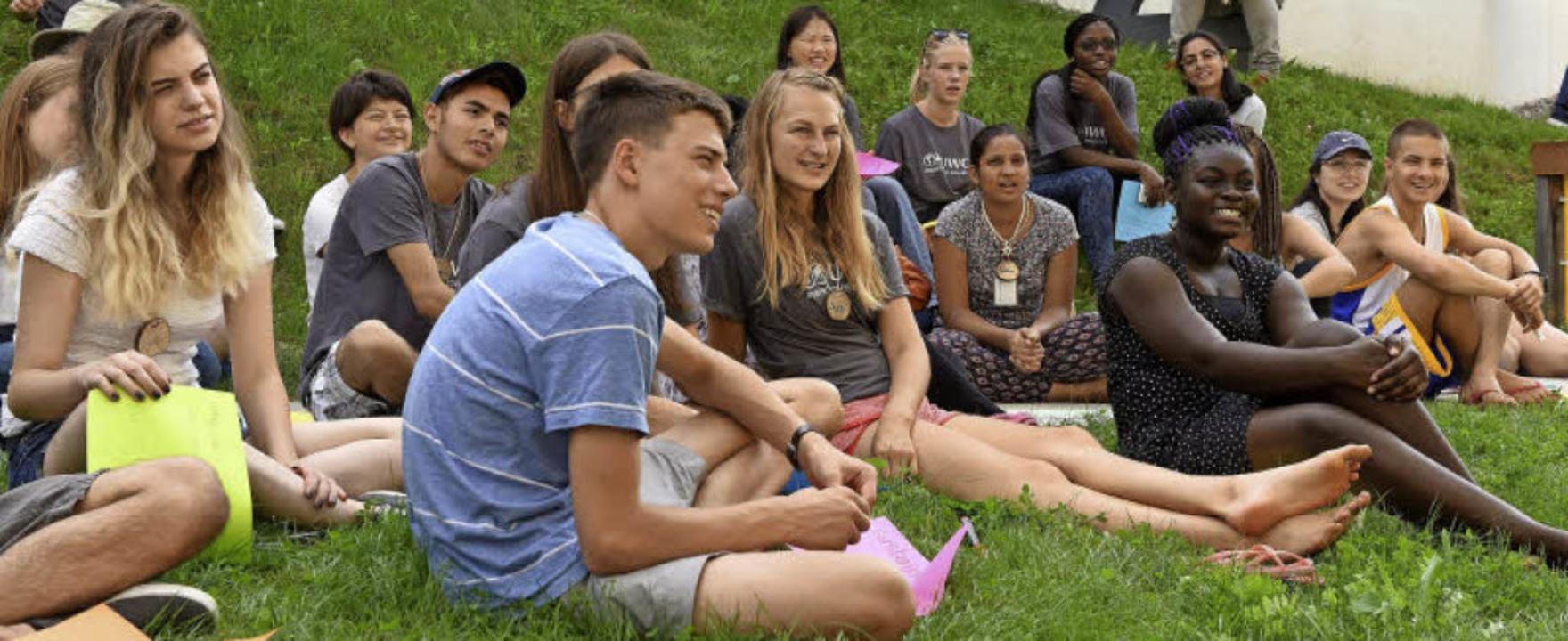 Das United World College begrüßt 102 n...hülerinnen und Schüler aus aller Welt.    Foto: Rita Eggstein