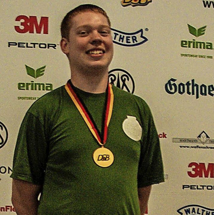 Deutscher Meister: Sebastian Müller.   | Foto:  Daniel Fellner