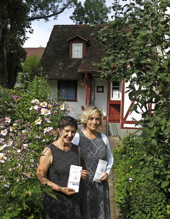 Carola Grasse, Monika Miklis und Olga ...r Jüdischen Kultur am 3. September ein  | Foto: Georg Voß