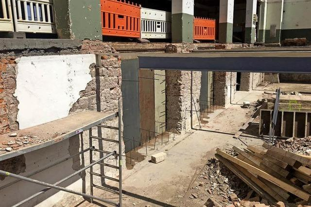 Umbau der ehemaligen Zigarrenfabrik schreitet voran