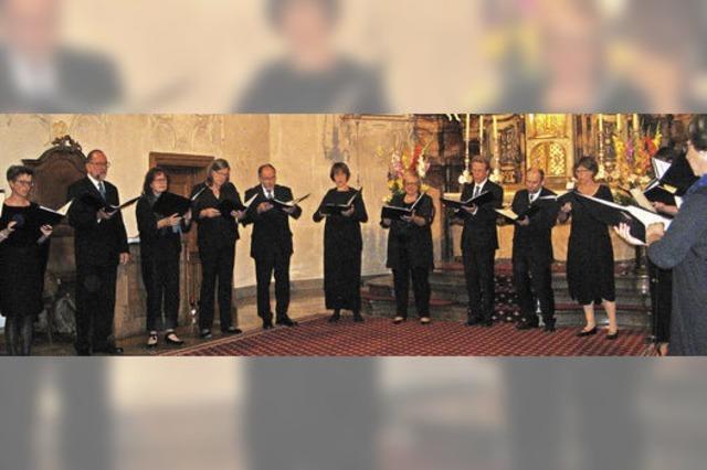 Anspruchsvolle Kompositionen der Kirchenmusik