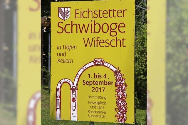 Schwiboge-Wifescht in Eichstetten verwandelt Ortskern in Festmeile