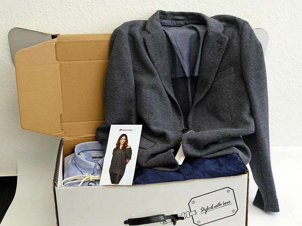 Ein typisches Outfit-Paket von  Outfittery.  | Foto: Wolfgang Grabherr