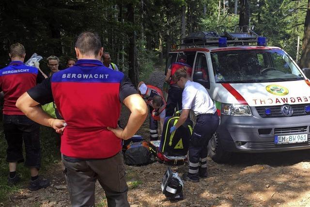 Schwarzwald-App hilft bei Notfällen