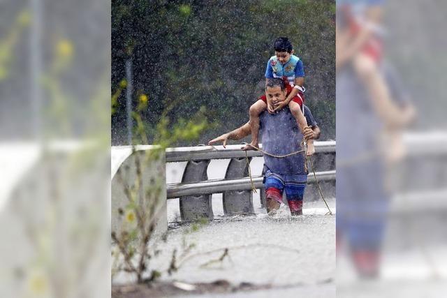Flutkatastrophe in Houston