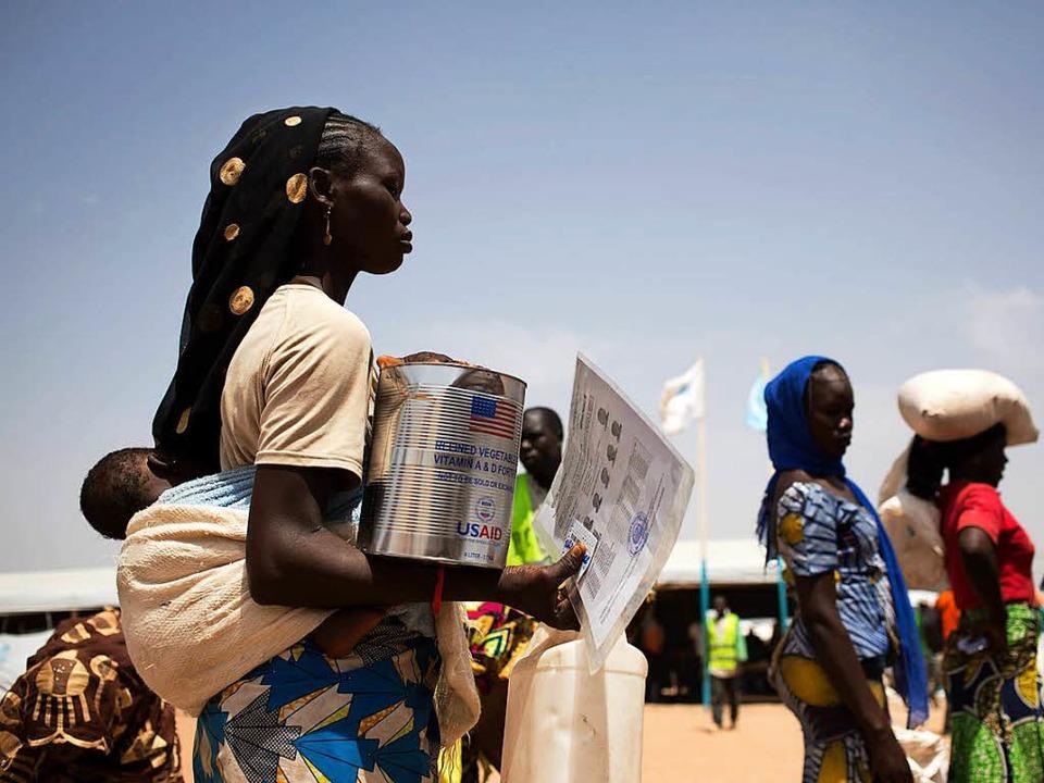 Die Sicherung der Nordgrenzen Nigers, Tschads und Libyens soll verstärkt werden.  | Foto: AFP