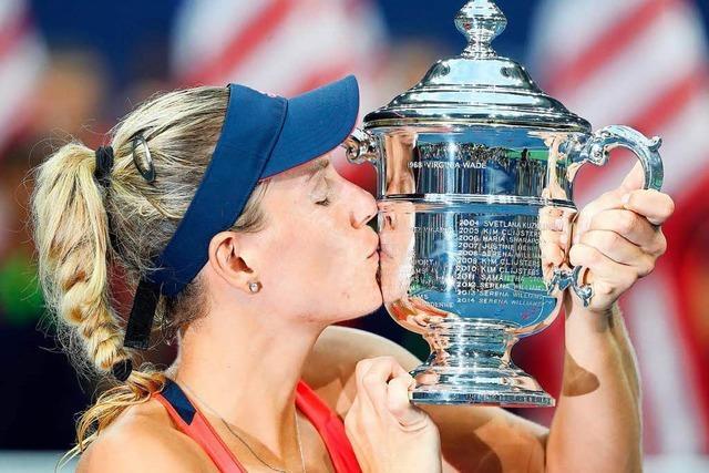Kerber will ihren Titel bei den US Open verteidigen