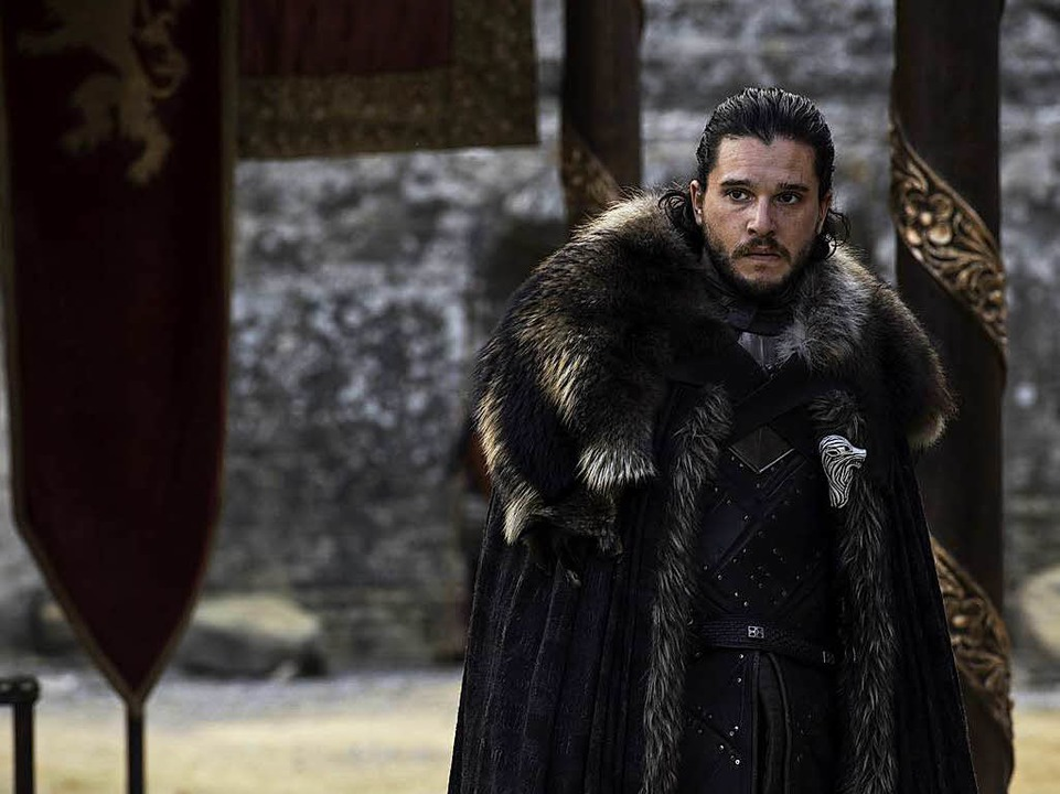 Weiß noch immer zu wenig über sich selbst: Jon Snow, gespielt von Kit Harington.  | Foto: Sky (Macall B. Polay)