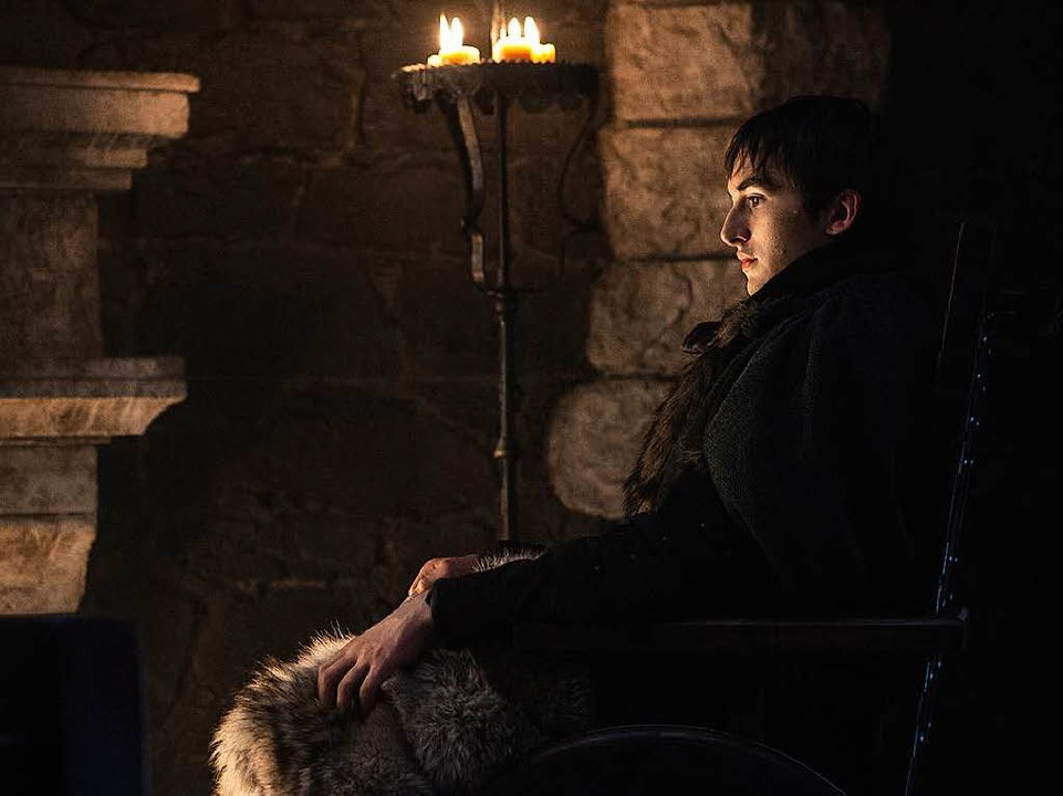 Bran Stark kann in Vergangenheit und Zukunft sehen.  | Foto: Sky (Helen Sloan)