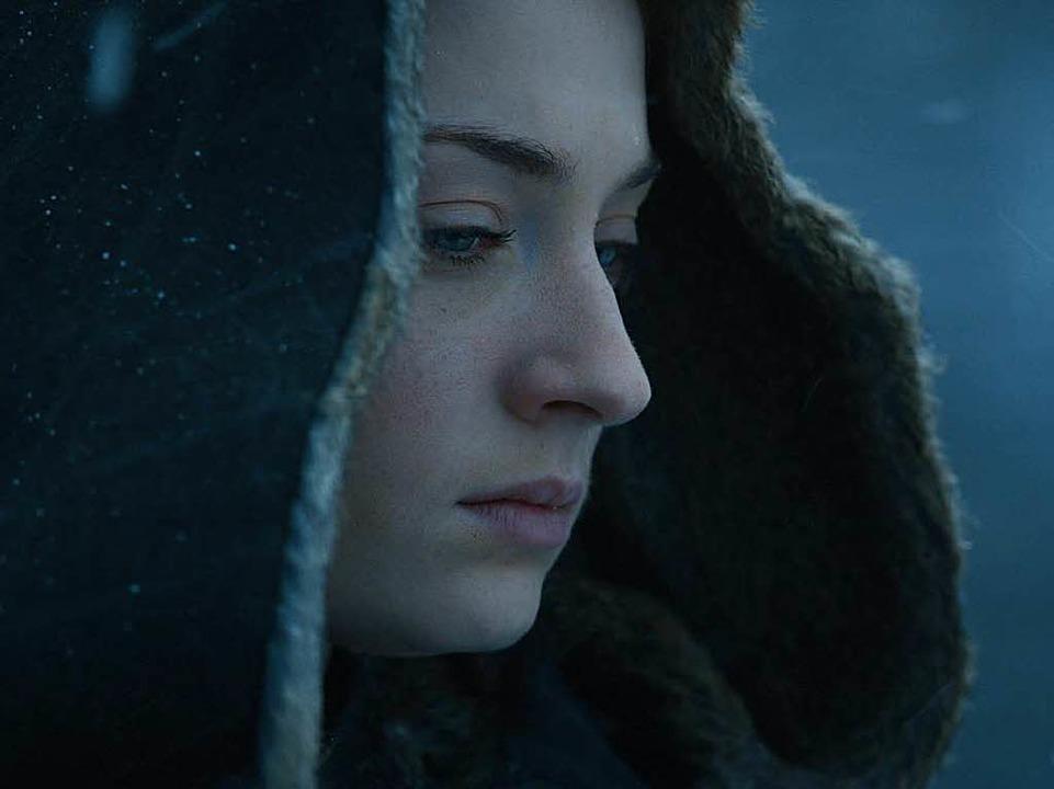 Sansa Stark macht im Staffelfinale kurzen Prozess mit einem Widersacher.  | Foto: Sky