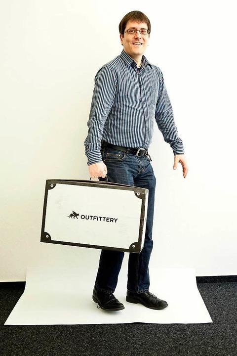 BZ-Redakteur Matthias Weniger ist nach...llung bei Outfittery zuversichtlich...  | Foto: Wolfgang Grabherr
