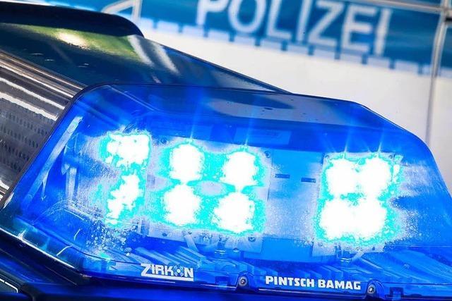 Zwei Verletzte bei Unfall in Lörrach