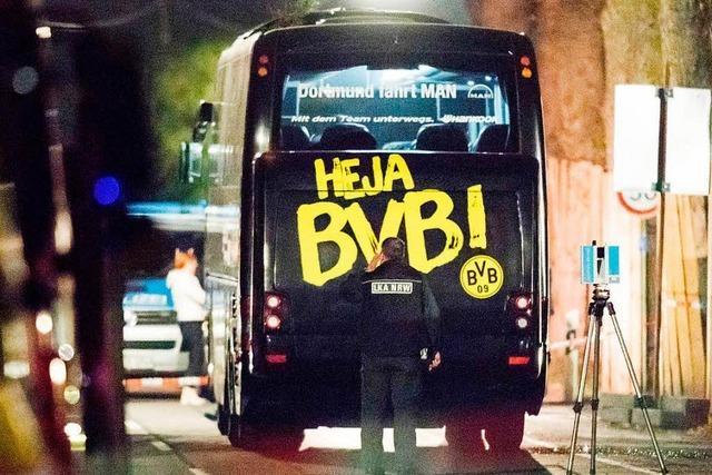 Anklage wegen versuchten Mordes nach Anschlag auf BVB-Bus