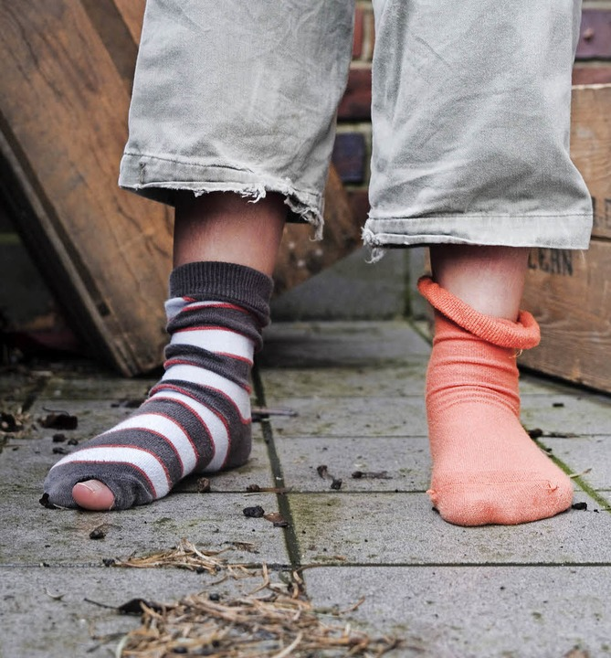 Arme Socke  | Foto: dpa