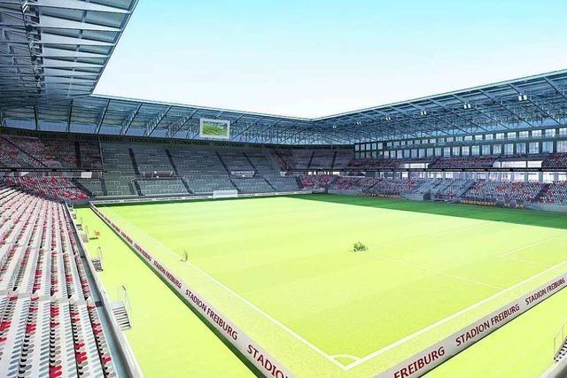 Video: Stadt und SC Freiburg stellen die Pläne für das neue Stadion vor