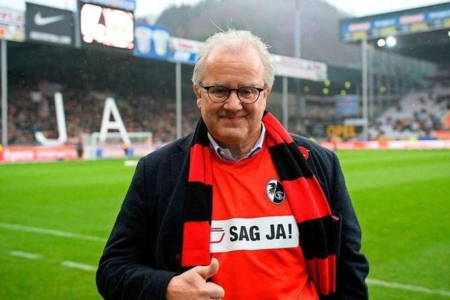 Fritz Keller will beim Stadion-Neubau