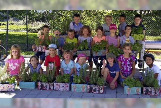 Kinder und Kräuter