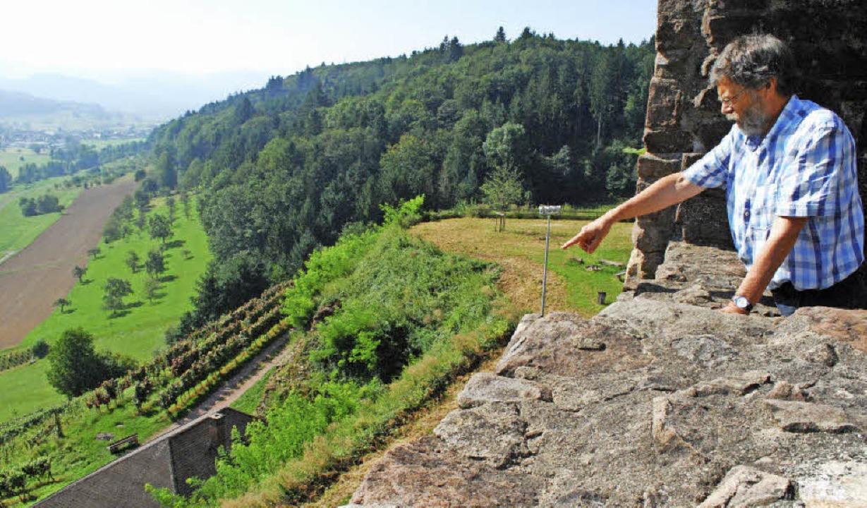 Dort unten, nahe der Hütte in den Rebe...edenfalls in Thomas Erles neuem Roman.  | Foto: Sylvia-Karina Jahn