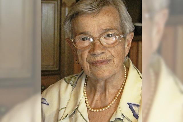 Irma Kreft feiert 90. Geburtstag