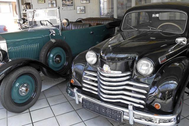 In Bötzingen gibt's ein privates Oldtimermuseum